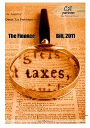Direct Tax Provisions - Finance Bill 2011 (eBook)