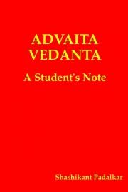 Advaita Vedanta - cover
