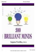 300 Brilliant Minds