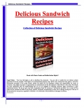 Delicious Sandwich Recipies (eBook)