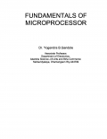 Fundamentals of Microprocessor
