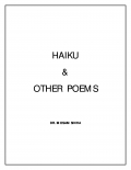 HAIKU & OTHER POEMS