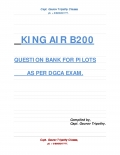 KING AIR B200 QUESTION BANK. (eBook)