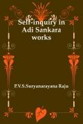 Self-inquiry in Adi Sankara works
