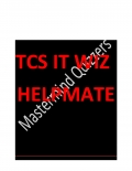 Sure 100+ Questions for TCS IT WIZ (eBook)
