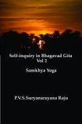 Self-inquiry in Bhagawad Gita Vol 2.