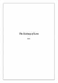 The Ecstacy of Love