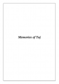Memories of Taj (eBook)
