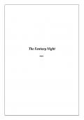 My Fantasy Night