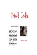 Untold India (eBook)