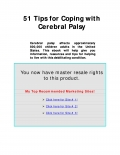 51 tips for dealing with CEREBRAL PALSY