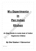My Experiments in Pan Indian Kitchen (eBook)
