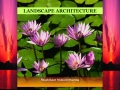 Landscape Planning and Architecture (eBook)