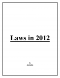 Laws in 2012 (eBook)