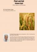 Plant aand Soil Volume Eight
