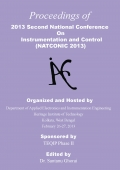 Proceedings of 2013 Second National Conference on Instrumentation and Control
