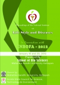 """Proceedings of the National Seminar on """"Life style and Diseases"""" 2012"""