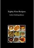 Eighty Nine Recipes