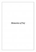 Memories of Taj