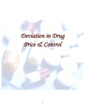 Deviation in Drug Price & Control (eBook)