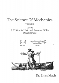 The Science Of Mechanics ( Volume II )