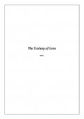 The Ecstasy of Love (eBook)