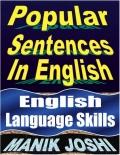 Popular Sentences in English (eBook)