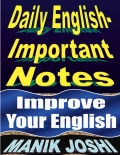 Daily English- Important Notes