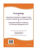 Proceedings of ICMTSET 2013 and  IRCEBM 2013