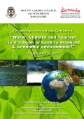 "Proceedings of the National Seminar on ""Water, Climate and Tourism - is it a boon or bane to mankind & economic environment?"""