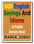 600 English Sayings and Proverbs