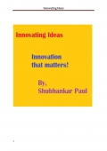 Innovating Ideas