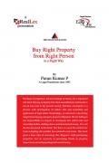 Buy Right Property from Right Person