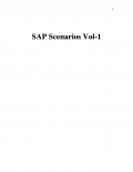 SAP Scenarios Vol-1