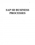 SAP SD BUSINESS PROCESSES (eBook)