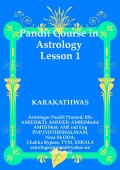Pandit Course in ASTROLOGY. LESSON 1