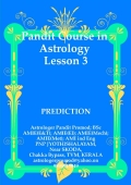 Pandit Course in ASTROLOGY. LESSON-3