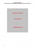 Programs in Python