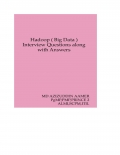 Hadoop ( Big Data ) Interview Questions with Answers (eBook)