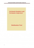 Fortunate Numbers and Fortunate Conjecture (eBook)
