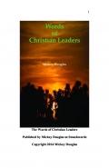Words of Christian Leaders