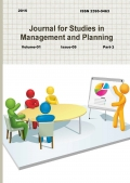 Journal for Studies in Management and Planning, Vol-1 April Part-3