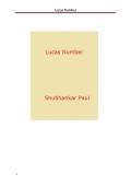 Lucas Number (eBook)