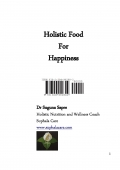 Holistic Food For Happiness (e-book)