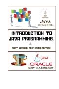Introduction to Java Programming,