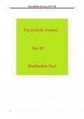 Psychedelic Journey (Part III)
