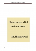Mathematics, which beats anything
