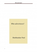 Who advertises? (eBook)