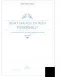 Basics with windows powershell(cmdlet) (eBook)