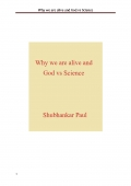 Why we are alive and God vs Science (eBook)